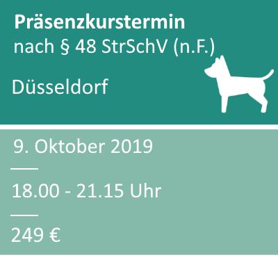 Strahlenschutzkurs in der Veterinärmedizin am 09.10.2019 in Düsseldorf